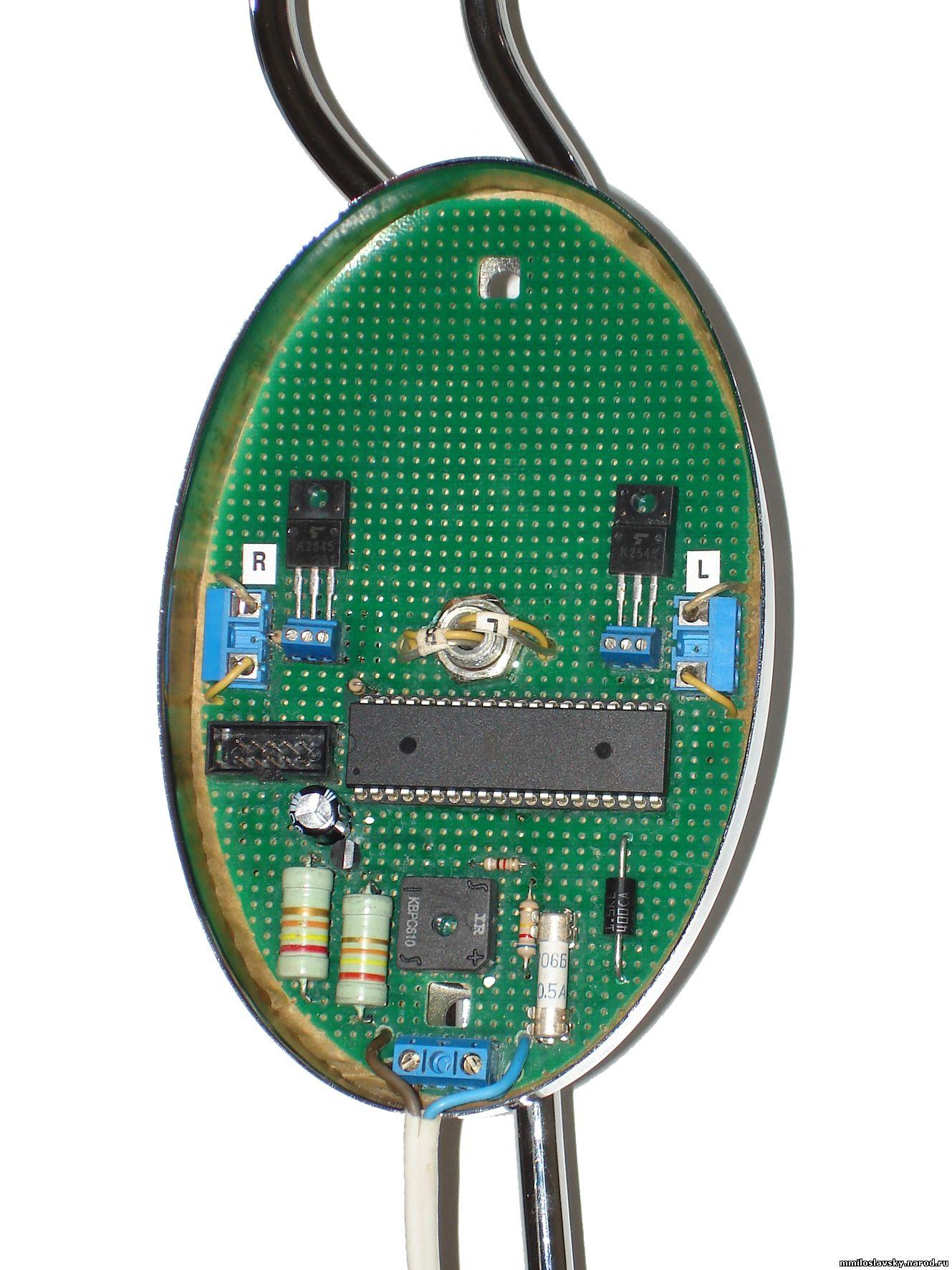 электрическая схема диммера